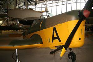 Miles Magister, Imperial War Museum Duxford, detail nose.JPG