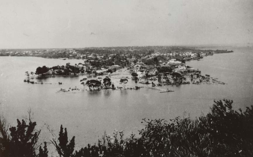 Mill Point, South Perth, 1926 floods
