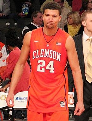 Milton Jennings - Jennings playing for Clemson in 2013