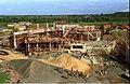 Mini Auditorium Under Construction - Convention Centre Complex - Science City - Calcutta 1994-10-17 094.JPG