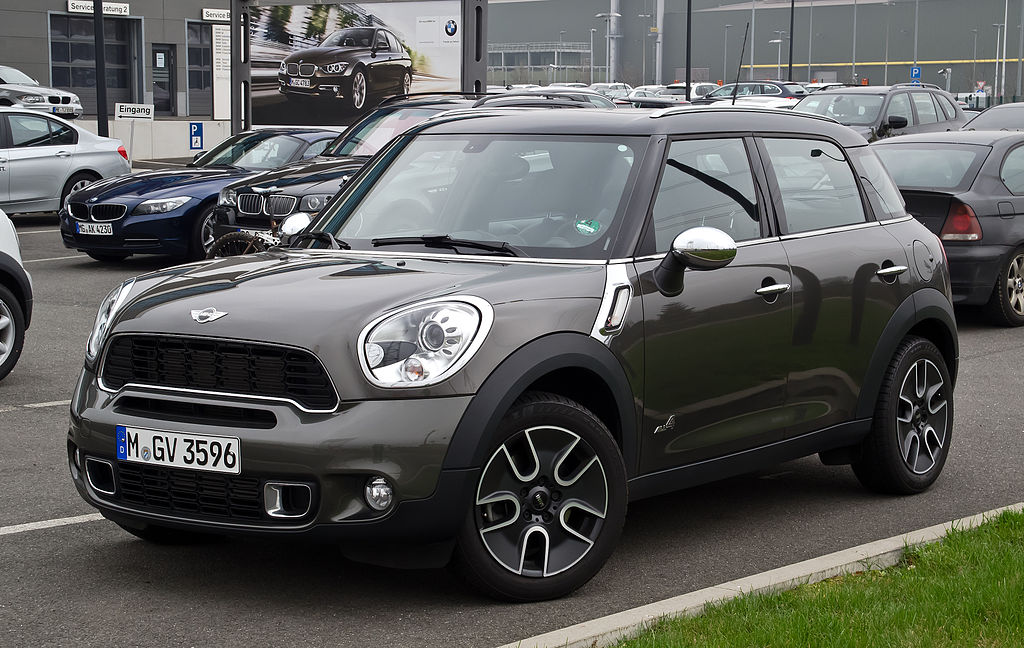 FileMini Cooper S ALL4 Countryman R60 Frontansicht
