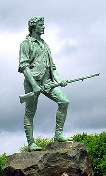 Minute Man Statue Lexington Massachusetts cropped.jpg