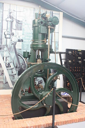 Anson Engine Museum - The Mirrlees No.1 on Display at the Museum