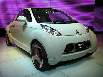 Mitsubishi Motors concept cars - The i MiEV Sport, pictured at the 2007 Tokyo Motor Show.