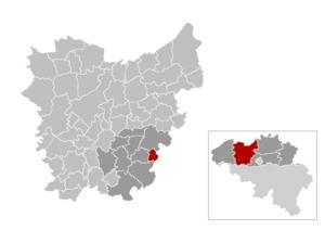 Denderleeuw - Image: Mnp Denderleeuw Location