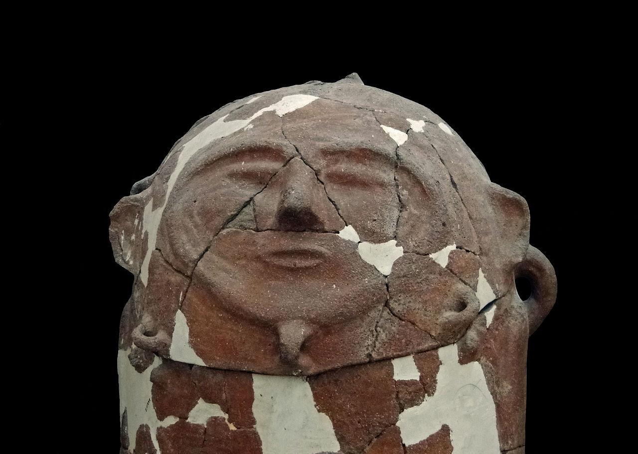Moabite sarcophagus in Jordan Archaeological Museum in Amman 1280px-Moabite_Sarcophagus