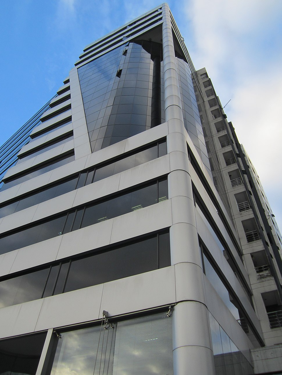 Modern Building in Quito, capital city of Ecuador,.picture.bb1a