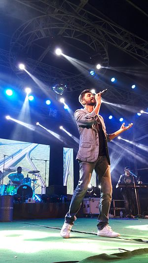 Mohammed Irfan (singer) - Mohammad Irfan performing in BCKV 2017