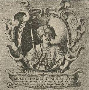 Mohammed esh-Sheikh es-Seghir - Mohammed esh Sheikh es Seghir, by Adriaen Matham, 1640.