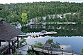 Mohonk Mountain House 2011 View of Boat Dock From Room FRD 2882.jpg