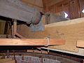 Molen De Korenbloem, Kortgene bovenas broekstuk pensteen.jpg
