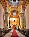 Monastery of Santa María de Monfero - Church interior - 22 July 2012.jpg