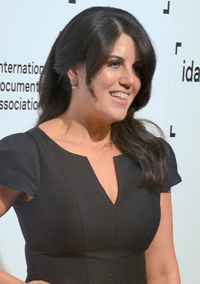 Monica Lewinsky, American activist and former White House intern