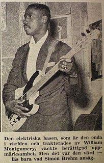 Monk Montgomery American jazz bassist