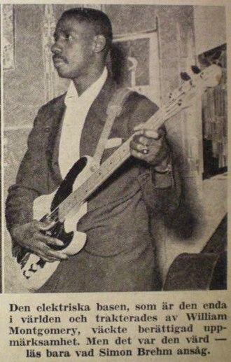 Monk Montgomery - Monk Montgomery, in Sweden 1953