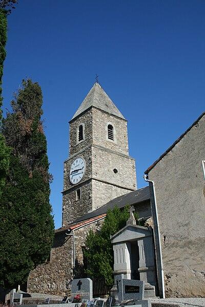 Mons (Hérault) - clocher de Saint-Jean.