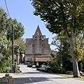 Montaigut-sur-Save Platane et église.jpg