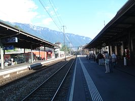Montreux railway station