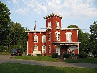 Montrose Historic District (Montrose, Pennsylvania) - Montrose Fire Department, August 2009