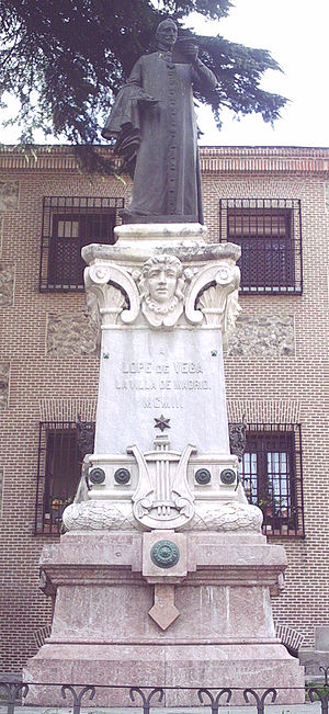 Lope de Vega - Monument in Madrid (1902).