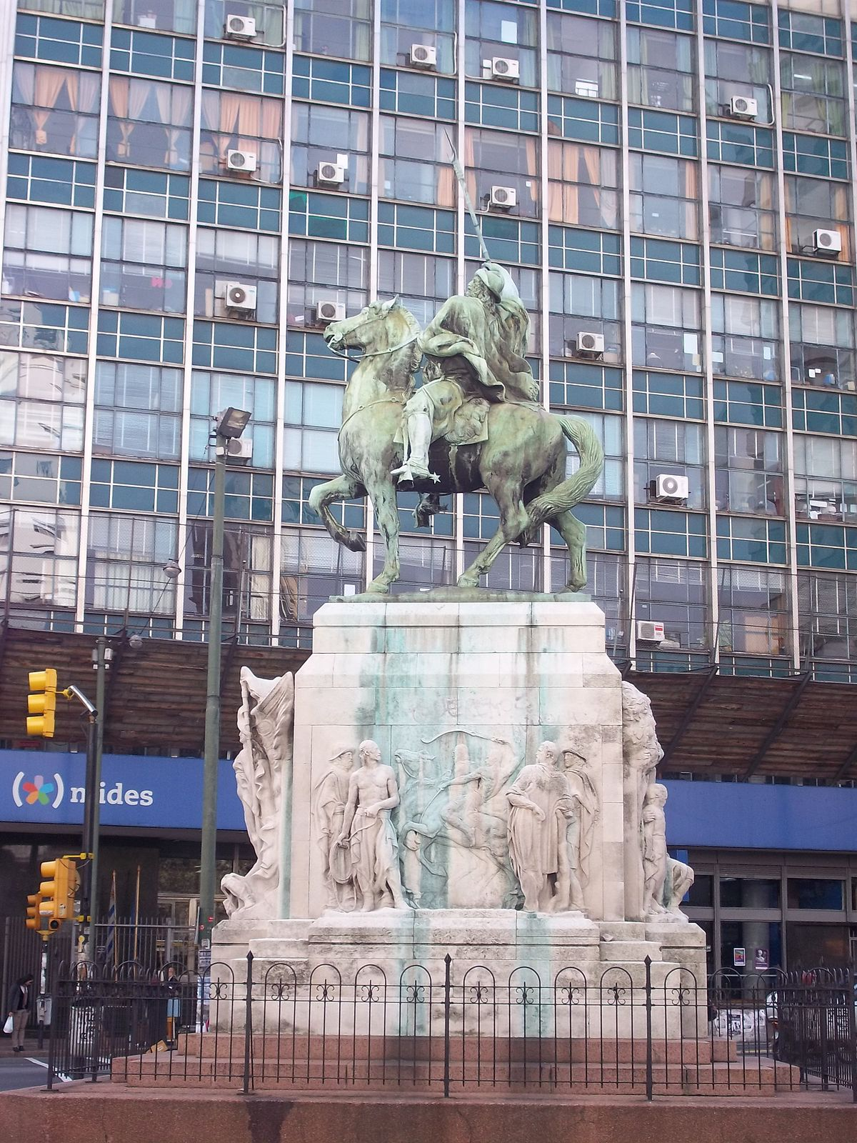 Monumento al Gaucho - Wikipedia, la enciclopedia libre