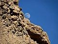 Moon rise over the Mojave - panoramio.jpg