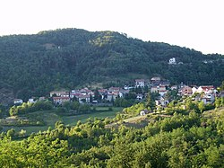 The frazione of Vallosi.