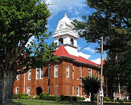 Morgan County Courthouse i Wartburg.