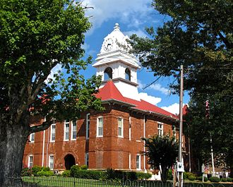 Morgan County, Tennessee - Image: Morgan County Courthouse tn 2