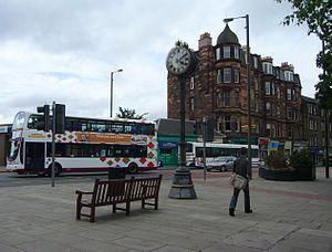 Morningside, Edinburgh - Image: Morningside Clock, Edinburgh