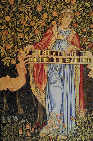 John Henry Dearle - Image: Morris Tapestry Summer
