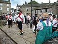 Morris dancing in the square - geograph.org.uk - 962116.jpg