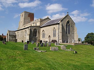 Harold Davidson - All Saints' Church, Morston