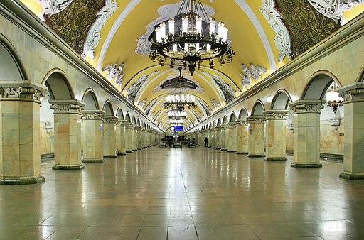 MoscowMetro KomsomolskayaKoltsevaya HDK5793-95