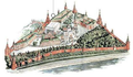 Moscow Kremlin map - The Alexandrovsky Gardens.png