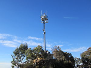 Mount Ainsle Aviation Beacon May 2012.JPG