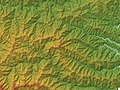 Mount Ryokami Relief Map, SRTM-1.jpg