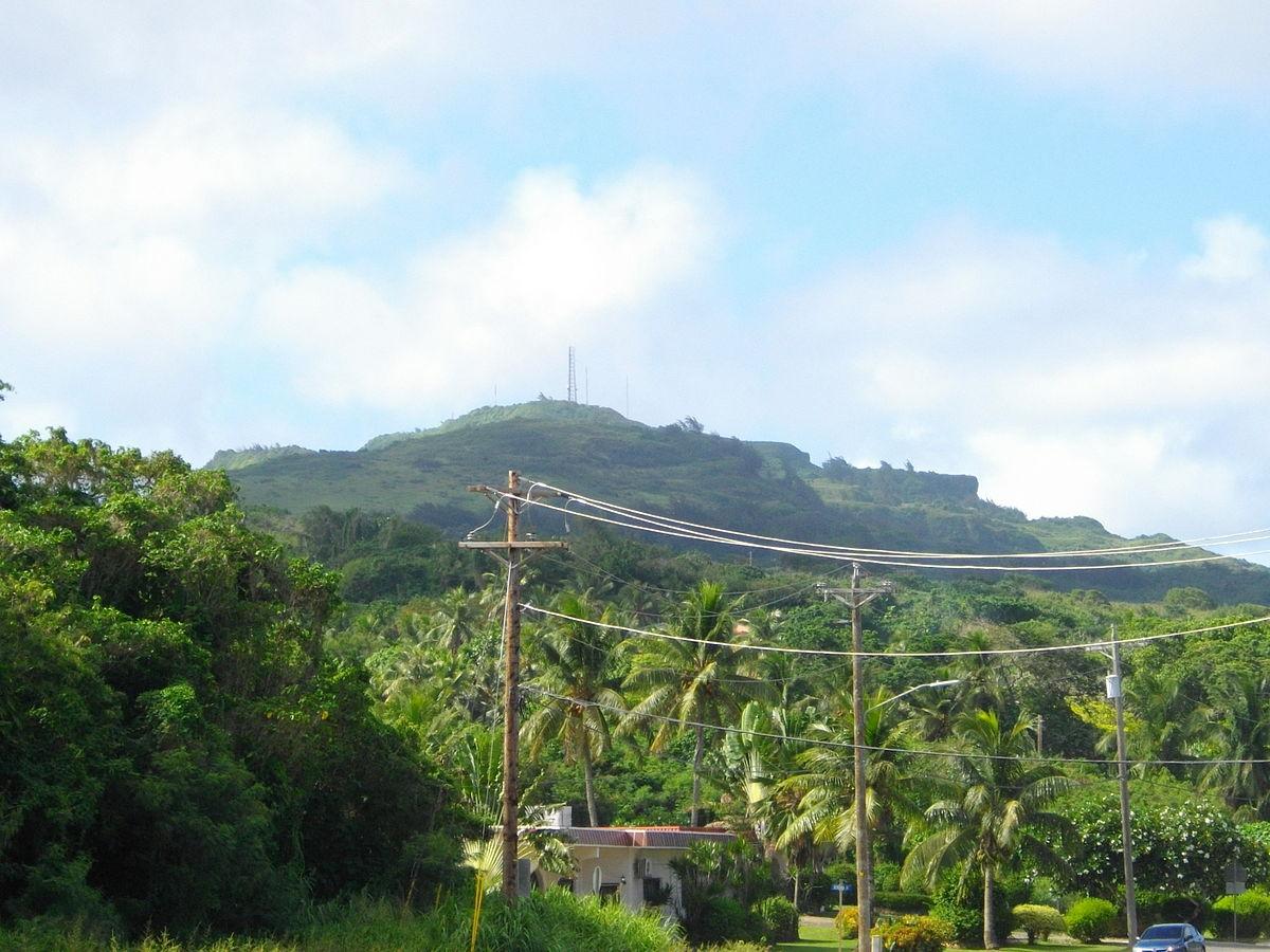 Mount Tapochau - Wikipedia