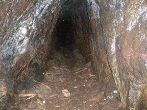 Mount Douglas, Greater Victoria - Inside of Mount Douglas Abandoned Mine.