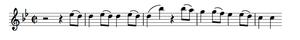 Auditory imagery - Mozart 40