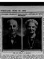 Mr. and Mrs. D. L. Badley, The Sunday Oregonian.png