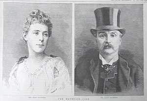 Florence Maybrick - Mr and Mrs James Maybrick