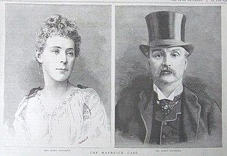 Florence Maybrick - Mr and Mrs James Maybrick
