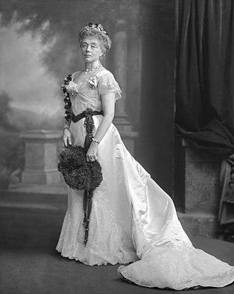 Joseph Hodges Choate - Mrs Joseph Hodges Choate, photographed 13 May 1902.