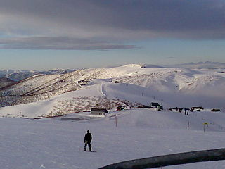 Mount Hotham mountain in Victoria, Australia
