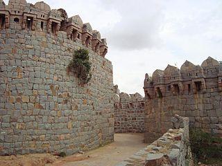 Mudgal city in Karnataka, India