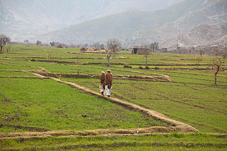 Pashtunistan - A village in Kunar Province of Afghanistan