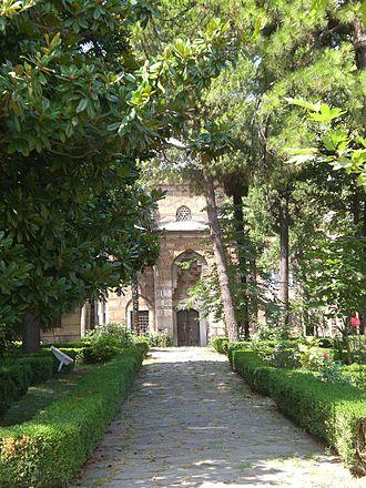 """Hüsnüşah Hatun - The mausoleum of """"Hüsnüşah Hatun"""" is located inside Muradiye Complex, Bursa"""