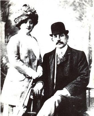 Murtuza Mukhtarov - Muktharov with his wife