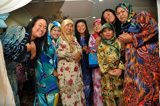 File Muslim Women In Tudungs At An Engagement Party